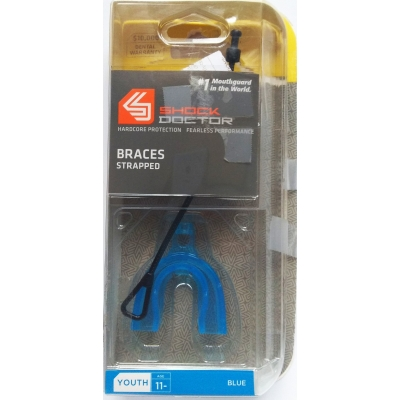 Капа SHOCK DOCTOR Braces Strapped